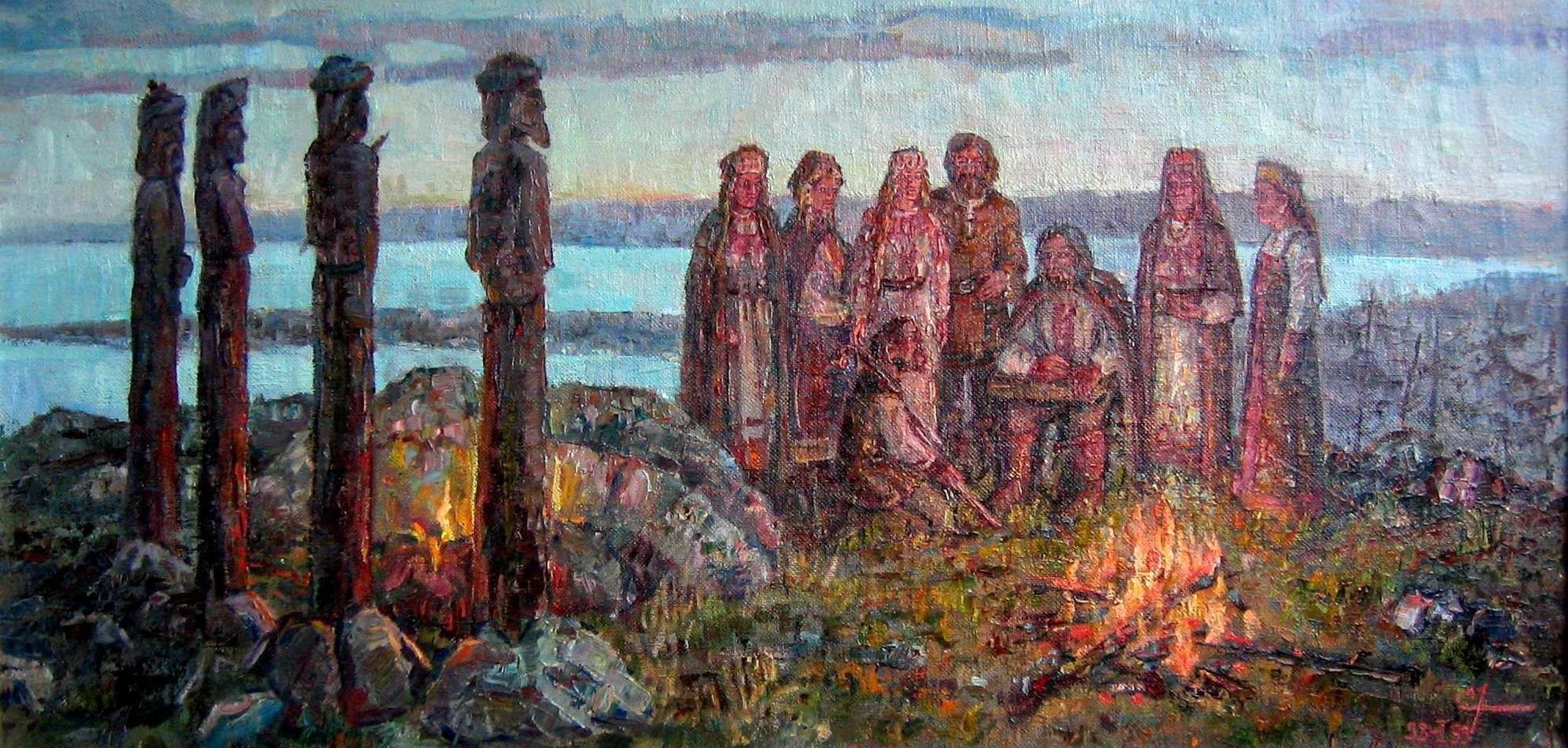 языческая религия славян картинки реализация привела невероятному