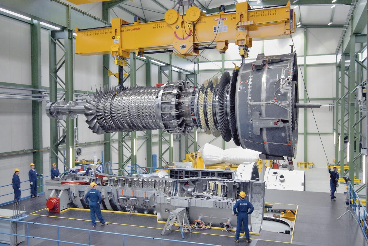 Машиностроительный топ-5: самые мощные в мире газовые