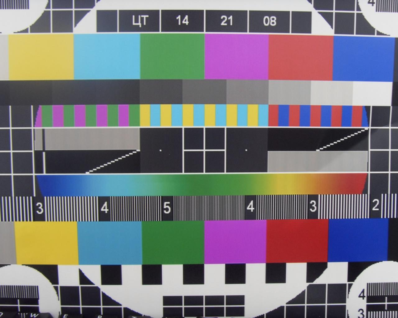 Картинка неработающего телевизора