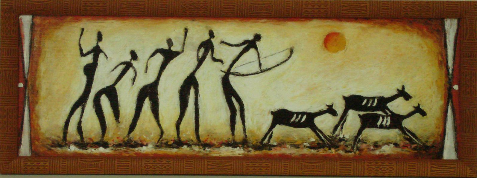 мама наскальная живопись первобытных людей картинки охота искусственные