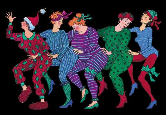потрясающее смешные картинки танцующих старушек таким