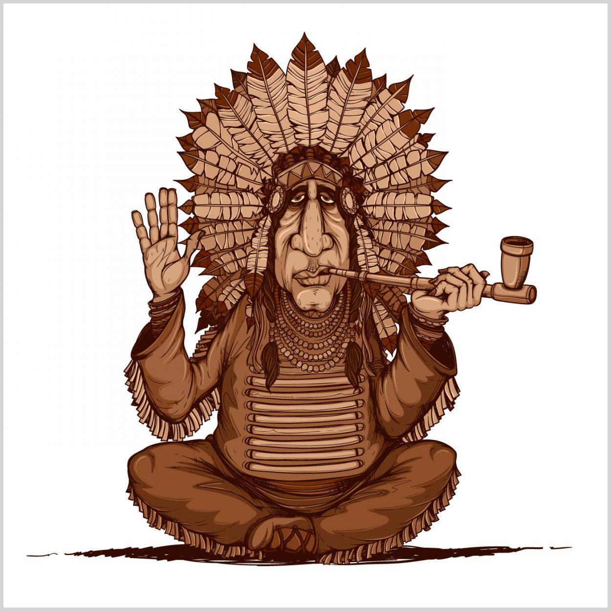 Картинки индейцев прикольные