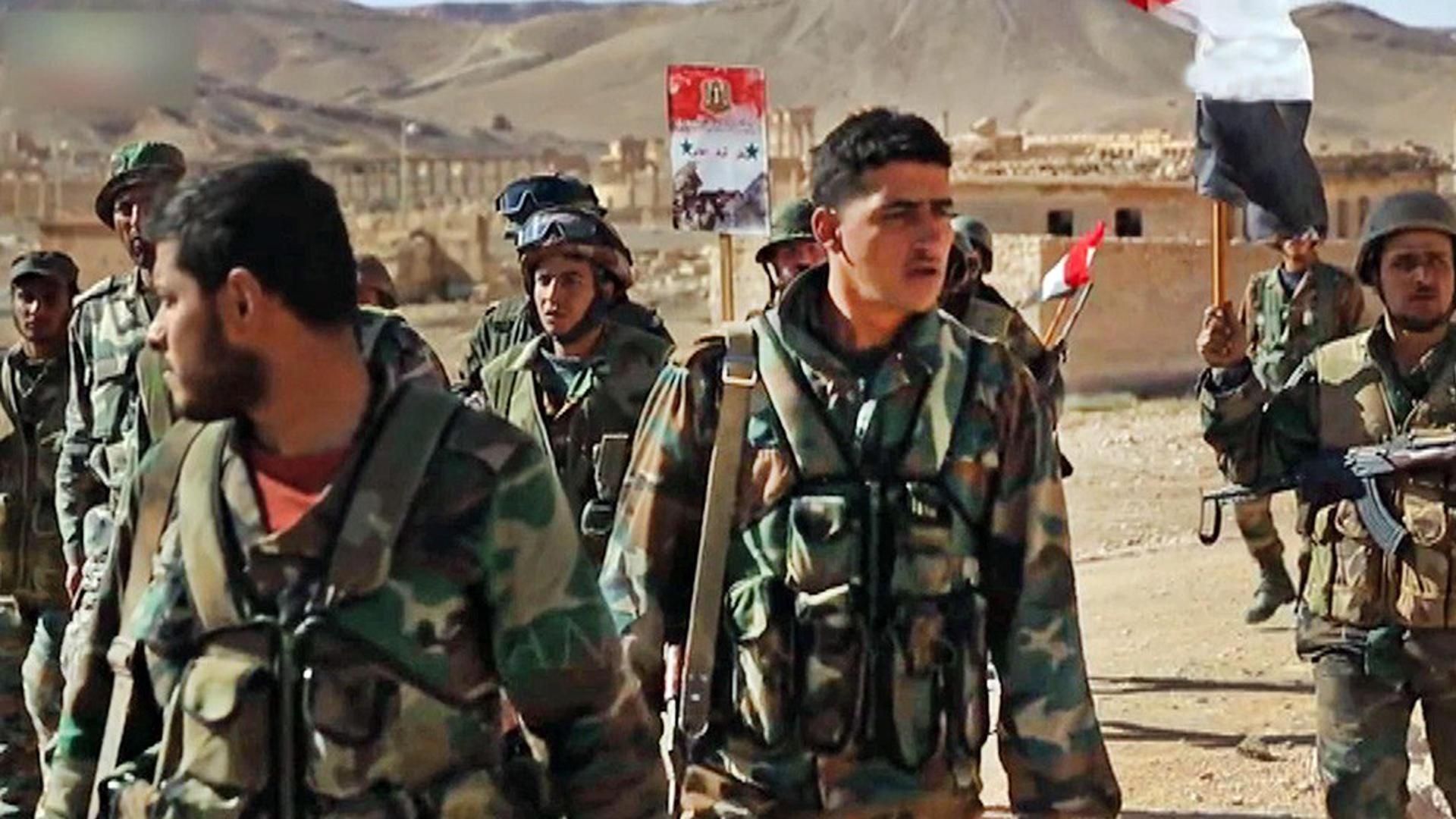Сирийская армия отразила крупную атаку боевиков в пригороде Дамаска