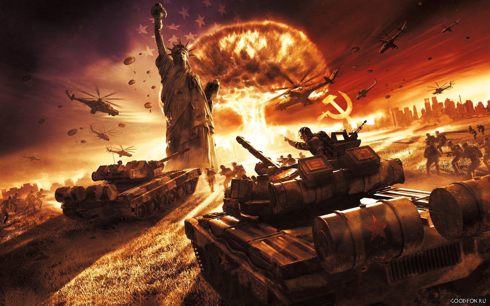 Глобальная война Запада с Россией: предчувствие или реальность?  | Блог shaya | КОНТ
