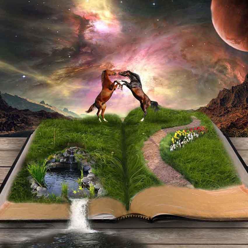 Мир это книга картинки