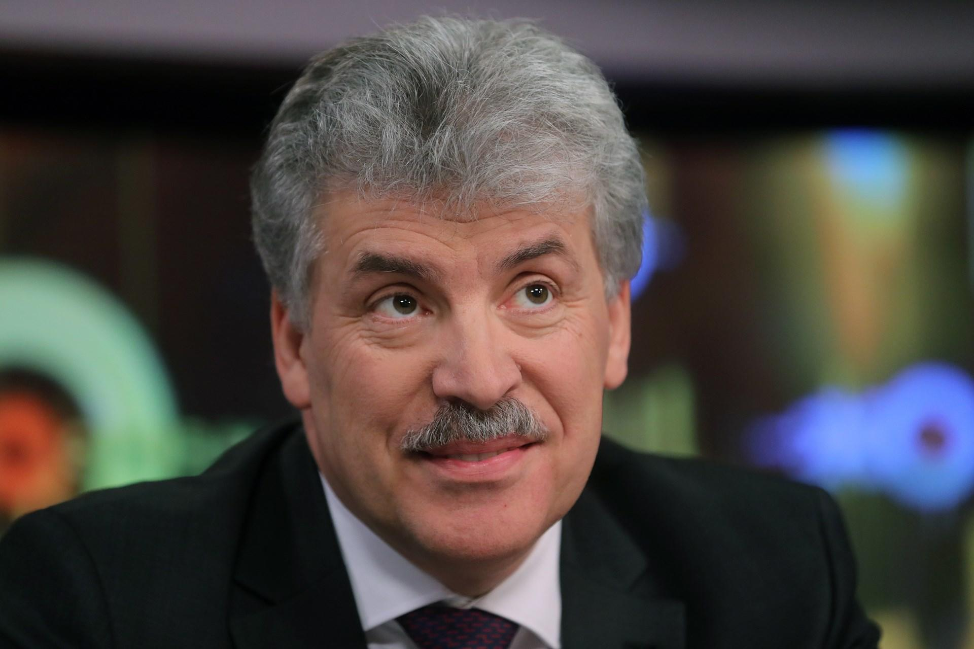 Интриги беглого олигарха: Ходорковский продвигает Грудинина