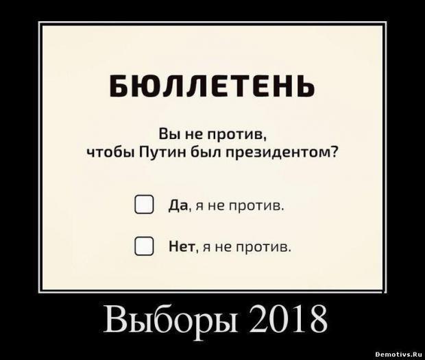 демотиватор я и выборы урок
