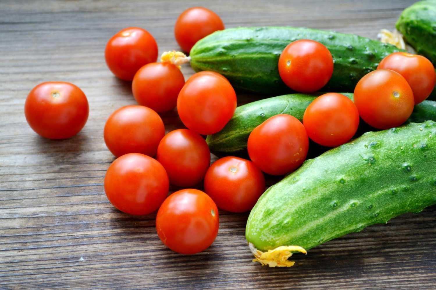 4 причины не смешивать в салате огурцы и помидоры рекомендации